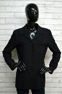Giacca-ARMATA-DI-MARE-Donna-Taglia-Size-40-Jacket-Woman-Blazer-Nero-Casual