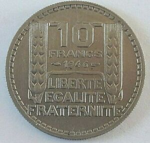 10-Francs-Turin-1946-gt-1949-French-coin-Munt-Type-B-or-not-Choix-multiple