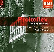 Romeo & Julia (Ex Df) von Previn,a., Lso | CD | Zustand gut