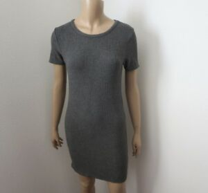 b185f43d Image is loading NEW-Brandy-Melville-Ribbed-Bodycon-T-Shirt-Dress-