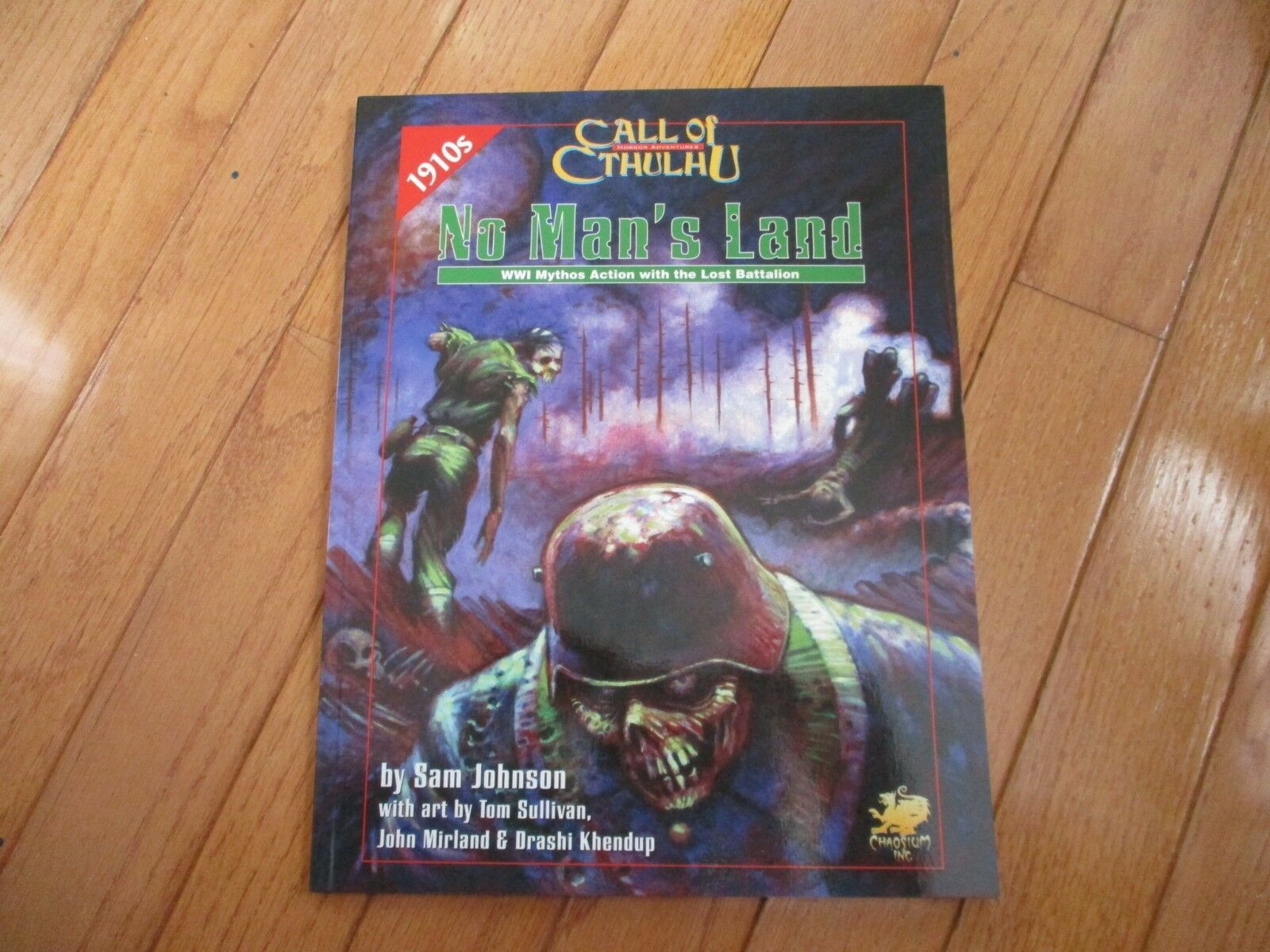 Call of Cthulhu No Man's Land WWI Mythos Action With the Lost Battalion