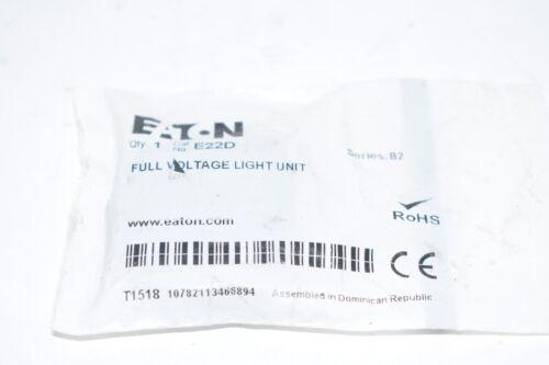 Details about  /NEW Eaton E22D No Bulb T3-1//4 Light Unit BA9 Full Voltage AC//DC