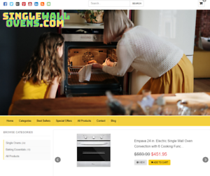 Premium Niche Blog With Affiliate Store Automatic Updates Free Hosting & Domain