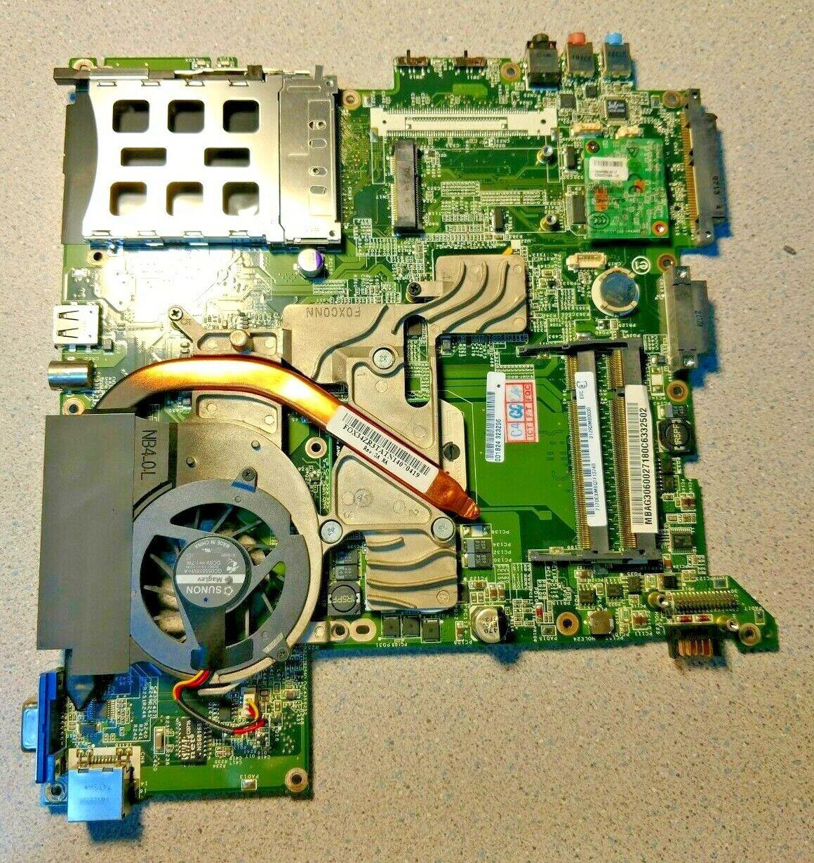 Acer Ferrari 1200 Laptop Motherboard MB.FRA01.001