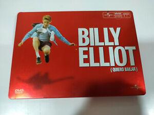 Billy-Elliot-Quiero-Bailar-Stephen-Daldry-DVD-Steelbook-Espanol-English
