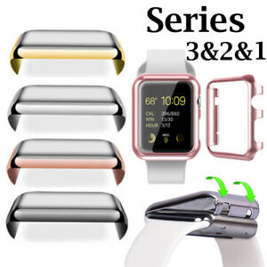 brand new 7d150 85855 Details about Clear Case Cover Screen Protector for iWatch 38/42MM Apple  Watch Series 1/2/3