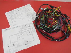 new 1957 ford thunderbird correct original type dash wiring harness 1967 Ford F100 Wiring Harness image is loading new 1957 ford thunderbird correct original type dash
