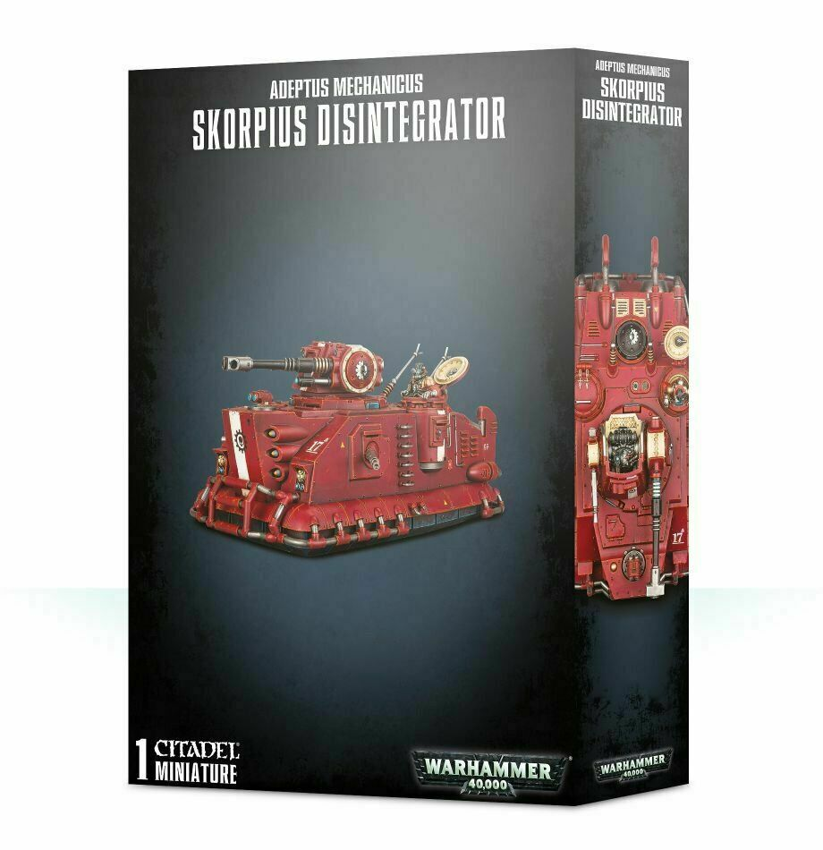 Warhammer 40K-Adeptus Mechanicus Skorpius desintegrador Nuevo En Caja