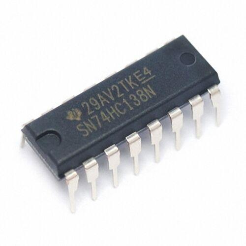 DORL/_A 5 pcs SN74HC138N 74HC138N MM74HC138N MC74H138N DIP-16 New