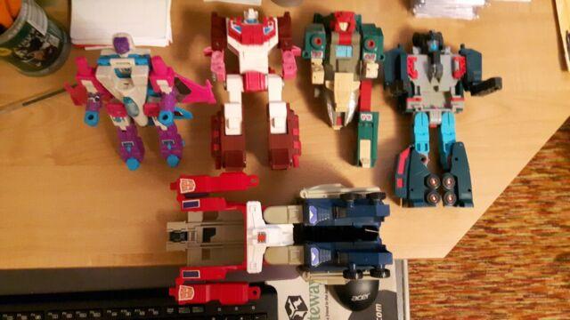 Vintage Hasbro G1 Transformers Parts/repair lot