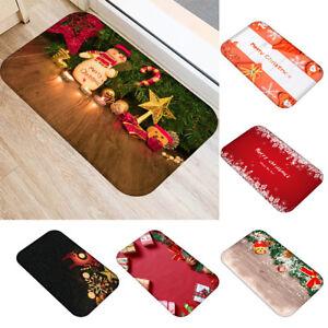 Cg-KF-Christmas-Mat-Floor-Rug-Carpet-Mat-Bathroom-Home-Non-slip-Pad-Door-Mat-E