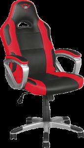 Trust  GXT 705R Ryon Gaming Chair Schwarz-Rot Rundum drehbar
