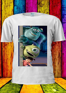 Monster-Inc-Disney-Cartoon-Anime-T-shirt-Gilet-Debardeur-Hommes-Femmes-Unisexe-345