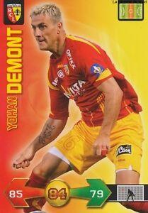 YOHAN-DEMONT-FRANCE-RC-LENS-CARD-CARTE-PANINI-ADRENALYN-FOOT-2010