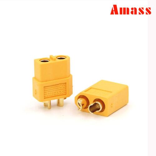 Amass Deans TRX XT60 XT90 XT30U EC5 Male /& Female Connector RC Lipo Battery Plug