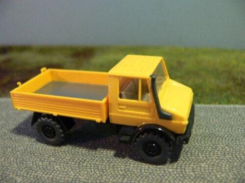 1//87 Wiking Unimog 1700 amarillo 375 6 a