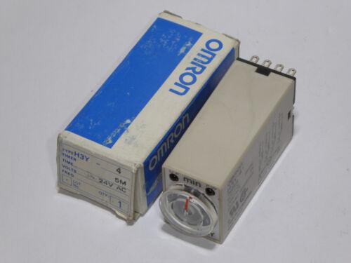 Omron H3Y-4 5min Zeitrelais 24V AC neu