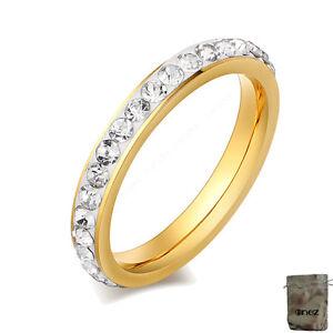 18,1mm Original Enez Ring Trauring Ehering Edelstahlring Gr: 8 B: 3mm R2627 Gute QualitäT