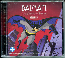 BATMAN THE ANIMATED SERIES VOLUME 4 2-Disc Limited Edition SOUNDTRACK Score CD
