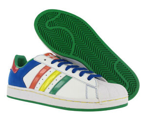 Details about Adidas Superstar Ii Cb Mens Shoes Whitemulti color