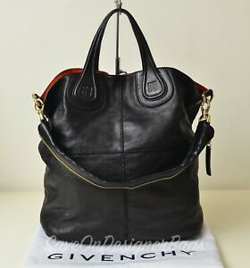 Givenchy-Nightingale-Shopping-Vertical-2Way-Tote-Bag-GU-Authentic-w-Dustbag