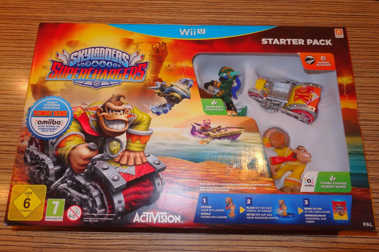 Wii u skylander skylanders superchargers racer. ähnlich mario kart  ungebraucht