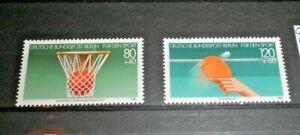 FRANCOBOLLI-GERMANIA-GERMANY-BERLINO-1985-034-SPORT-034-NUOVI-MNH-SET-C-4