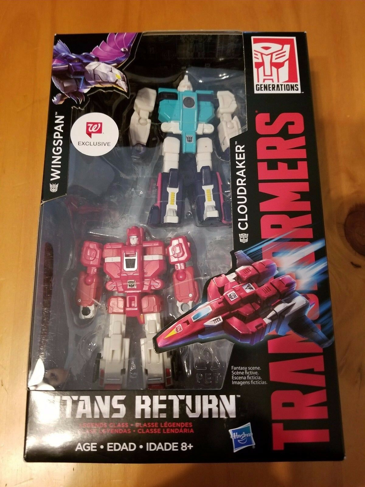2017 Transformers WINGSPAN & CLOUDRAKER (Walgreens Exclusive)  New