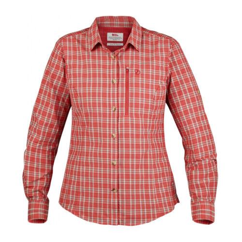 vendeur flamme orange Womens Abisko de Échantillon Hike Ls Shirt porté jamais Fjallraven saule wFxP0fqf
