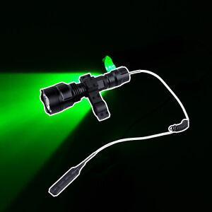 Image Is Loading New Green Light LED Hog Night Hunting Flashlight