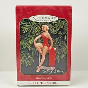 Hallmark-Keepsake-1999-Ornament-Marilyn-Monroe-Collector-039-s-Series-EUC