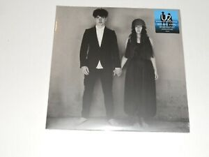 U2-Songs-Of-Experience-1st-Run-Limited-Blue-Cyan-Transparent-LP-2017-Sealed