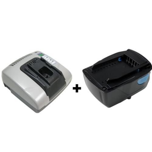 Batterie 21,6 V Li-Ion 4000 mAh pour Hilti ag125-a22 sfc22-a te4-a22 Set Chargeur
