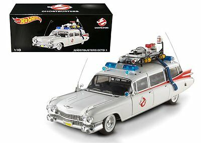 Hot Wheels Heritage 1:18 Cult Classics GHOSTBUSTERS ECTO-1 Diecast Car BCJ75