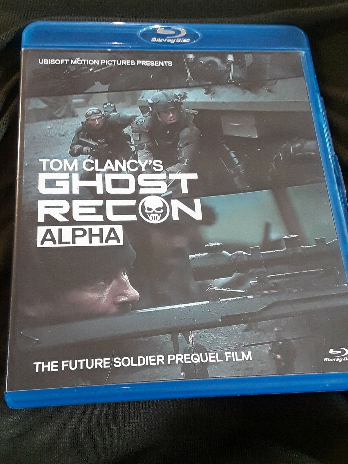 Tom Clancys Ghost Recon Alpha Blu Ray Disc 2012 2 Disc Set For