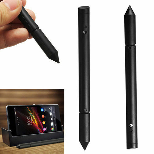 2 in1 Touch Screen Pen Stylus For Apple iPhone iPad Samsung Tablet Phone PC