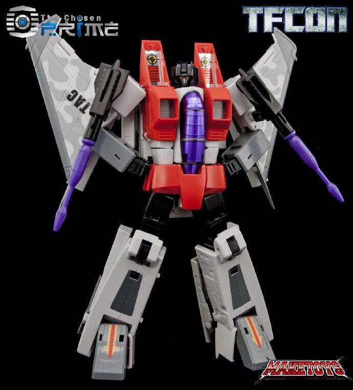 a la venta Juguetes héroe] en en en mano [Transformers MAKETOYS Mt MTG2 Estrellascream tfcon exposición  precios al por mayor