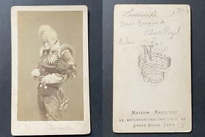 Numa fils, Paris, Bouquin de Lassouche, acteur du théâtre du Palais Royal, circa