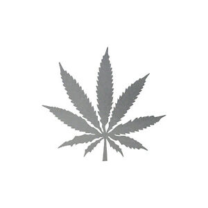 1-Chanvre-Balai-8cm-Argent-Thc-Herbe-Plante-Marijuana-Autocollant-Tatouage-Deco-039