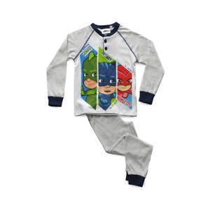 Pigiama Bimbo Lungo in Cotone Jersey PJMASKS Art PL16037
