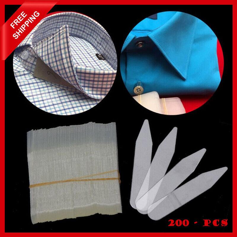 200Pcs-Plastic-Collar-Stiffeners-Stays-Bones-Set-For-Dress-Shirt-Men-Gifts