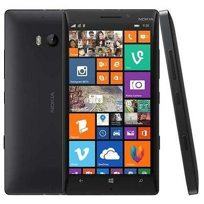 Unlocked Nokia Lumia 930 20MP 32GB WiFi LTE NFC GPS 5.0'' Smartphone Black