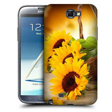 CUSTODIA COVER  per SAMSUNG GT N7100 GALAXY NOTE 2 TPU BACK CASE SUNFLOWER