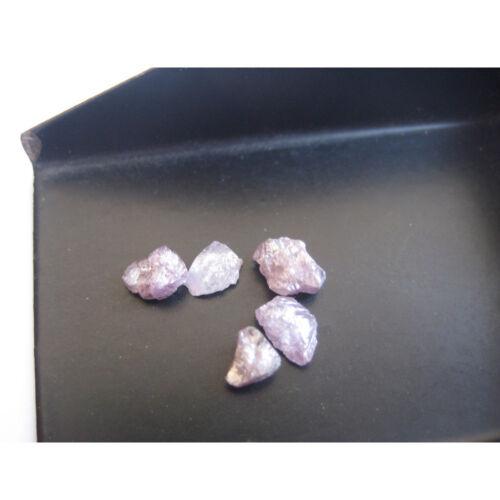 Beautiful Pink Natural Loose Diamond Rough Raw Loose Gemstone 1 Pce 5mm PU8