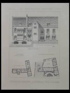 Magasiner Pour Pas Cher Chateaudun, Ateliers Avec Habitation -planche- Construction Moderne 1890-passard RéSistance Au Froissement