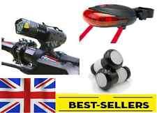 Front rear laser caps lights set - led bright light mountain road bike -UK Stock