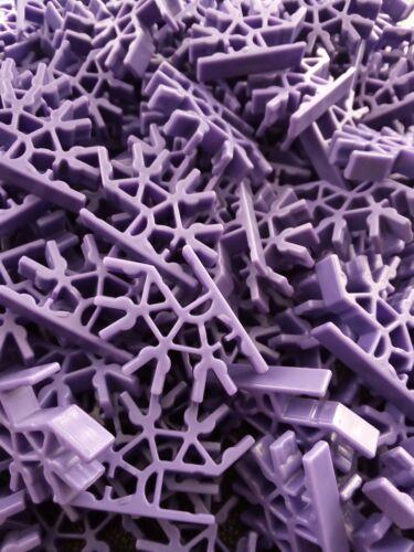 K/'Nex Purple 4 Way 3D Connectors Discontinued x 25 DW810 Postage Discounts