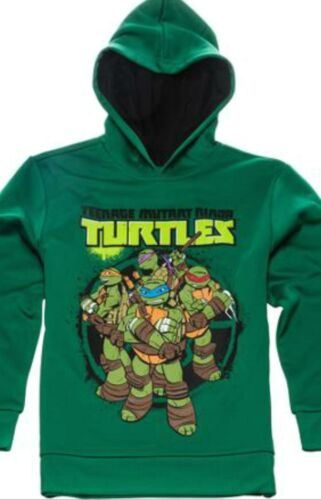 Teenage Mutant Ninja Turtles Hoodie 4 5 XS 10 12 L 18 XXL New Childs Sweatshirt