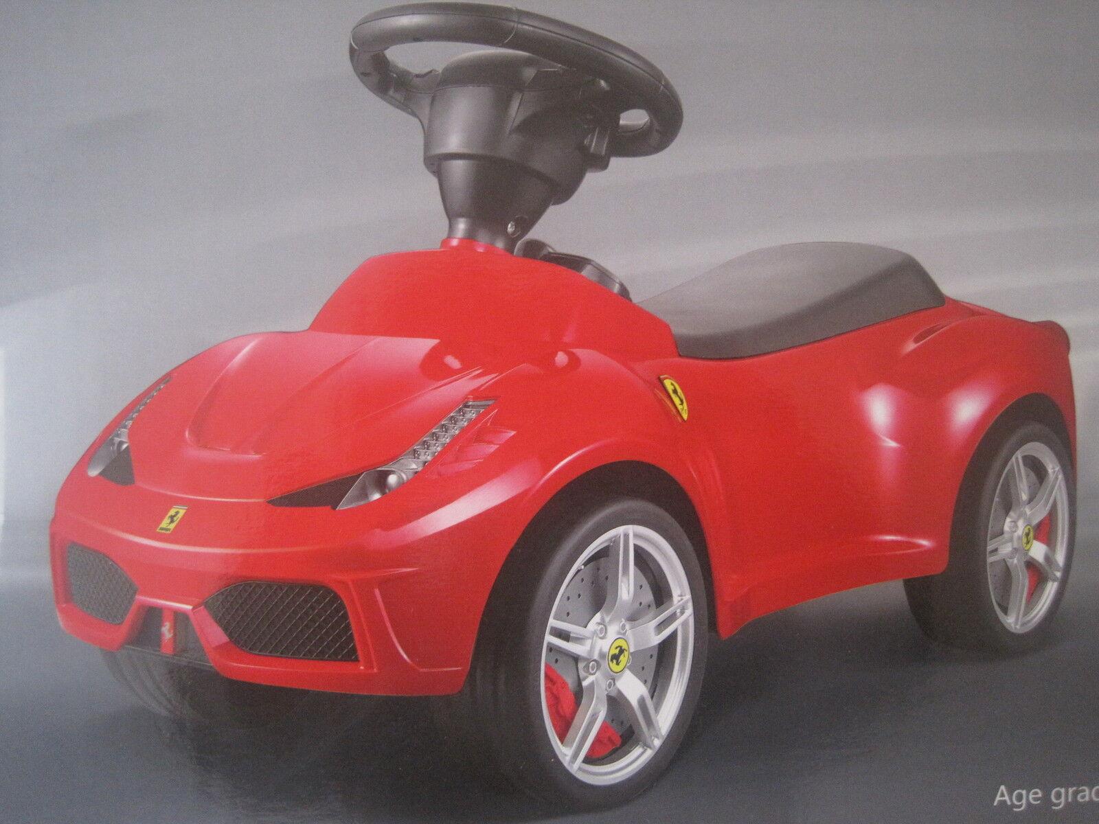 Rutscherauto Lizensiertes Rutscherfahrzeug Ferrari  NEU m. Flüsterreifen