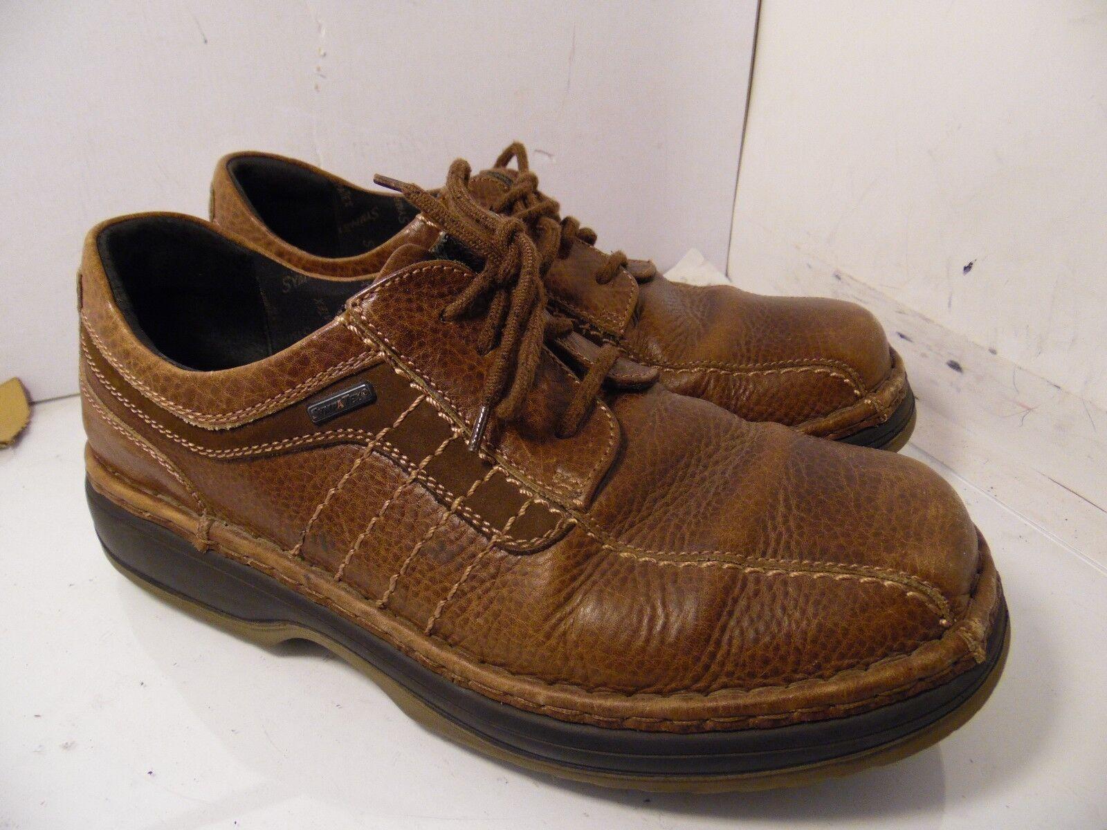 JOSEF SEIBEL Sympatex Brown Leather Casual Oxfords Comfort Walking Mens Size 44